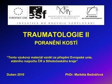 Traumatologie II
