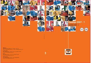 Catalogue 2007 - 1 - G.M.P. S.p.A.