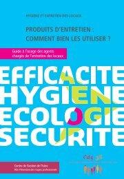 PRODUITS D'ENTRETIEN : COMMENT BIEN LES ... - CDG38