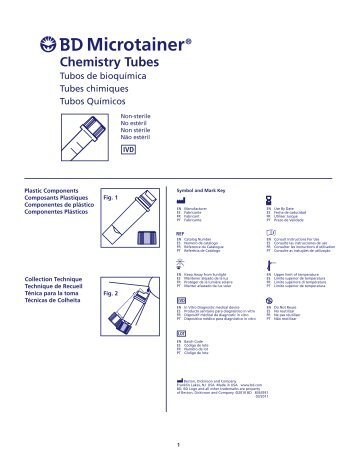 Microtainer® Chemistry Tubes - BD