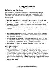 Respiration II Patho - Frintroper Praxis für Naturheilkunde