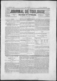 94 JUILLET 184J 46e AN r E - Bibliothèque de Toulouse