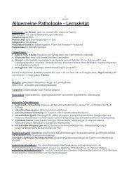 Patho-Lernskript - Biochemie - Nachhilfe