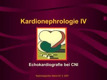 Kardionephrologie IV - Nephrogene.com
