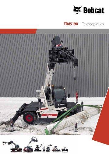 Télescopique rotatif TR45190 - Bobcat.eu