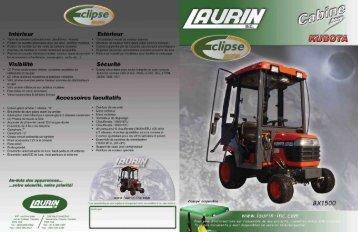 Télécharger la brochure de ce modèle - Laurin inc