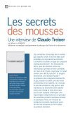 Les secrets des mousses, une interview de Claude Treiner - Page 3