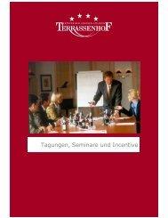 Tagungen, Seminare und Incentive - Hotel Terrassenhof