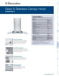 Glass & Stainless Canopy Hood Specifications - RH36WC60GS