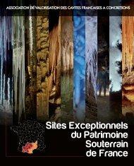 Sites Exceptionnels du Patrimoine Souterrain de France