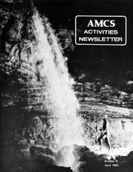 8MB PDF - Association for Mexican Cave Studies
