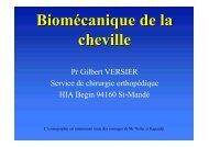 Biomécanique de la cheville - ClubOrtho.fr