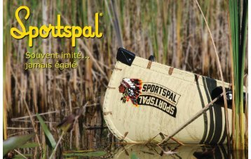 du Nord de l'Ontario, le Canot Sportspal - BW Marine Products