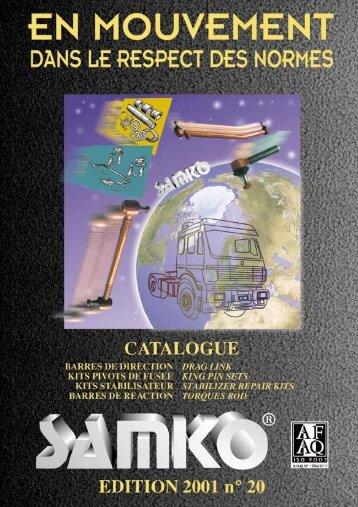 Imp. catalogo Samko 2000/1 cts - CONCORD