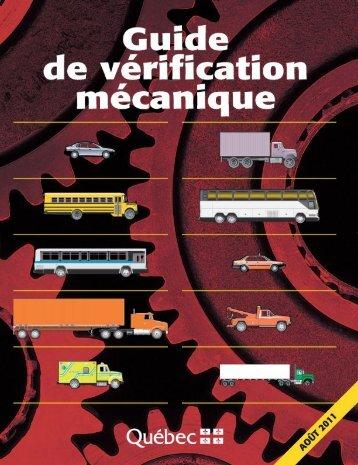 Guide de vérification mécanique. - Société de l'assurance ...