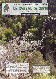 Numéro de Juillet - Septembre 2008 - Treymont