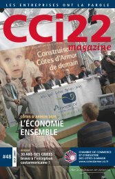 CCI22 Magazine - Octobre 2007 (2,85 MB) - CCI Côtes d'Armor