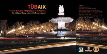 TÜBAIX - Université de Provence