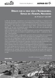 Multiplication des commerces et développement urbain ... - Ecoparc
