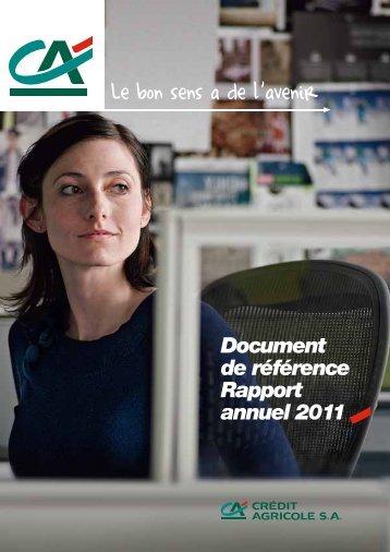 Document de référence Rapport annuel 2011 - Info-financiere.fr