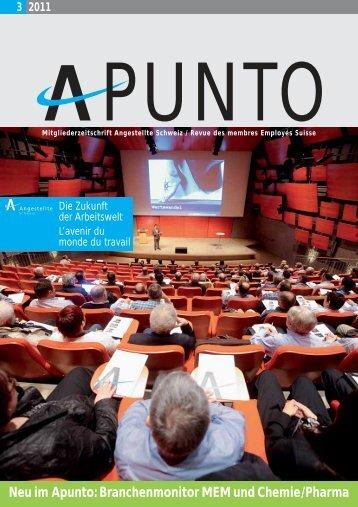 Apunto 3/2011 - Angestellte Schweiz