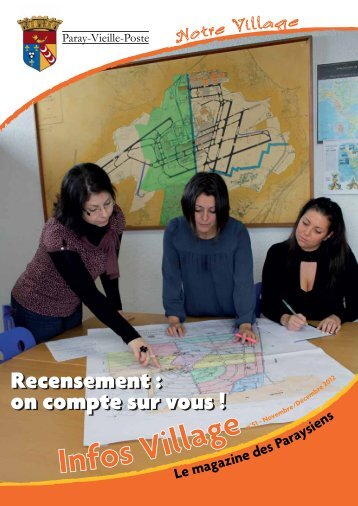 Infos Village - novembre 2012 - Paray-Vieille-Poste