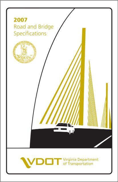 2007 Road and Bridge Specifications - Virginia Department of