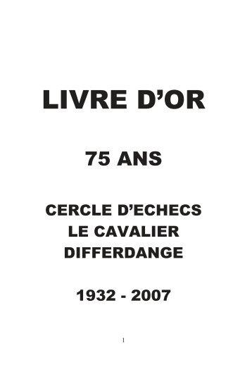LIVRE D'OR - Le Cavalier