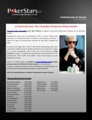 ElkY Champion du Monde - PokerStars.fr