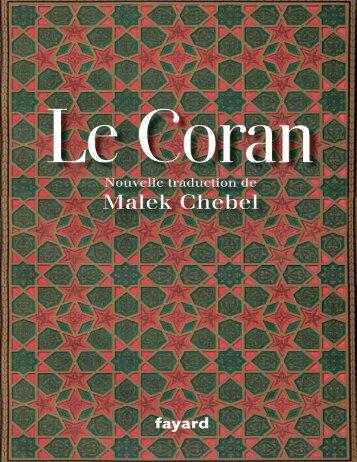 Lecture en ligne (version pdf) - Le Noble Coran