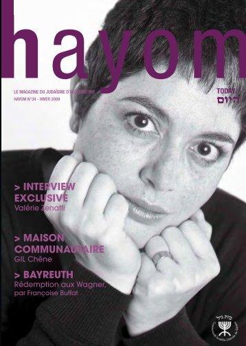 hayom34 - Communauté Israélite Libérale de Genève
