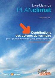 Consultez le Livre blanc du Plan climat - Toulouse Métropole