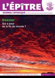 Dossier - Secteur catholique Saint-Michel - Beauce - Etampes