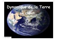 Dynamique de la Terre - geologie randonneurs