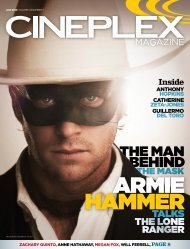 Cineplex Magazine July2013