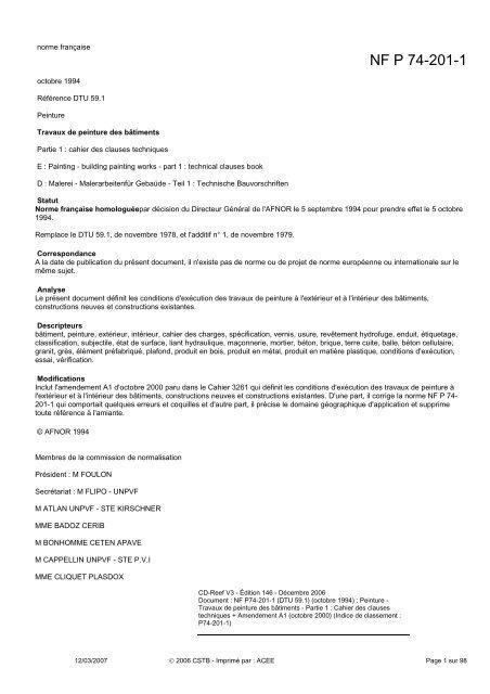 PDF 25.41 TÉLÉCHARGER DTU