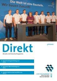 ZDB Direkt 5-6-2012.pdf - Zentralverband Deutsches Baugewerbe