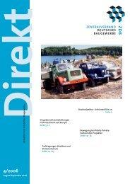 ZDB Direkt 4-2006.pdf - Zentralverband Deutsches Baugewerbe