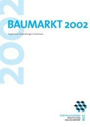 ZDB Baumarkt-Gesamt.pdf - Zentralverband Deutsches Baugewerbe