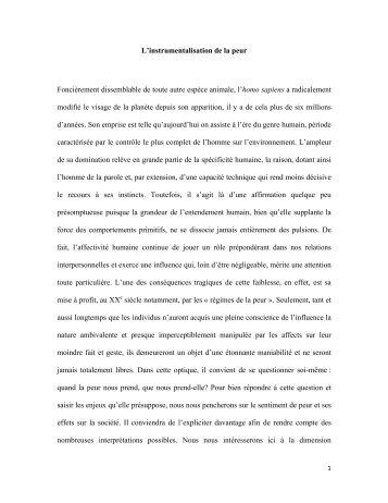 Texte d'Audrey Jacques présenté au concours Philosopher 2010-2011