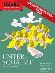 «FACHZEITSCHRIFTEN SERIE» 7/2006 - Publicitas AG