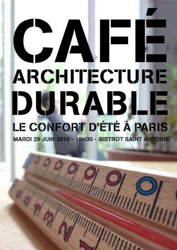Compte rendu - CAUE75 Paris