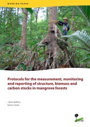 Protocols for the measurement, monitoring and reporting of ... - CIFOR