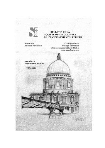 télécharger le bulletin - UFR Sciences Humaines et Arts