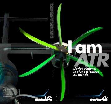 L'avion régional le plus écologique au monde - ATR