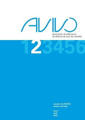 Courrier numéro 2 - Avivo Vaud