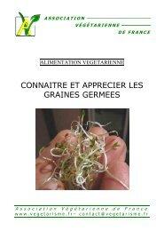 Graines germées - Association Végétarienne de France