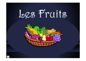Fruits - Diaporama
