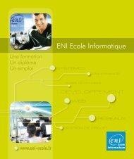 Formation - ENI Ecole Informatique