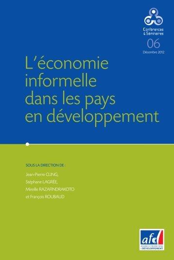 L'économie informelle dans les pays en développement - AFD